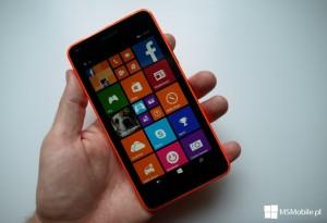 Microsoft Lumia 640 - ekran startowy