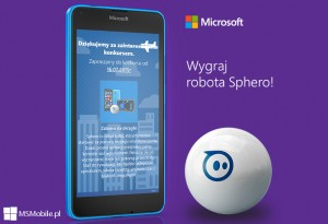 Konkurs Microsoft - robot Sphero