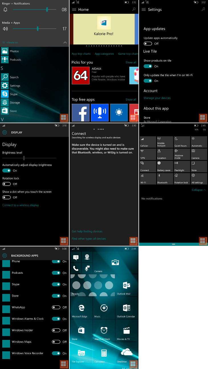 Windows 10 Mobile Build 10162