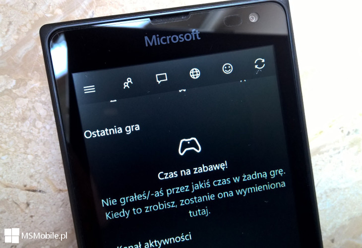 Xbox Windows 10 Mobile