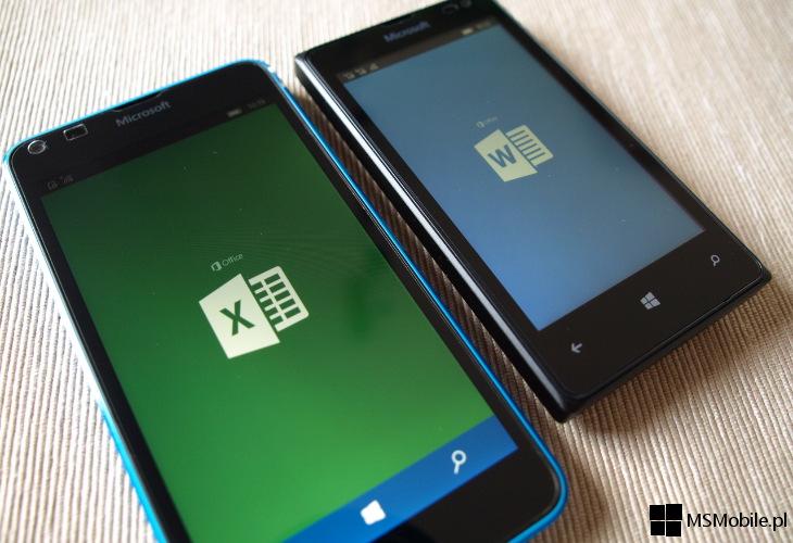Office dla Windows 10 Mobile