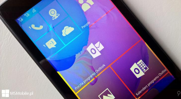 Poczta i Kalendarz Windows 10 Mobile