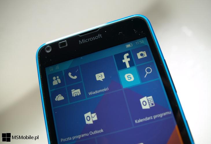 Windows 10 Mobile - Poczta i Kalendarz