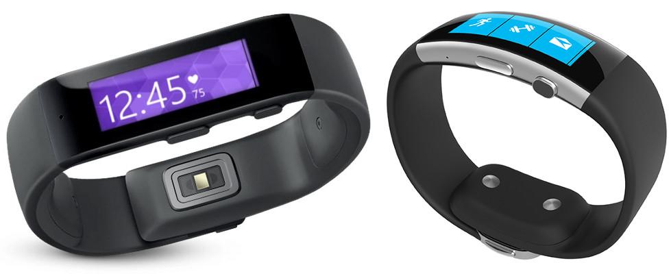 Microsoft Band vs Microsoft Band 2