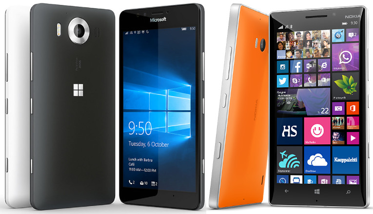 Lumia 950 vs Lumia 930
