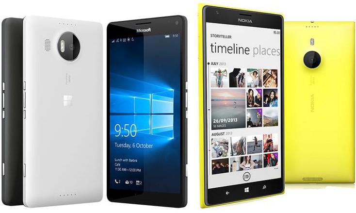 Lumia 950 XL vs Lumia 1520
