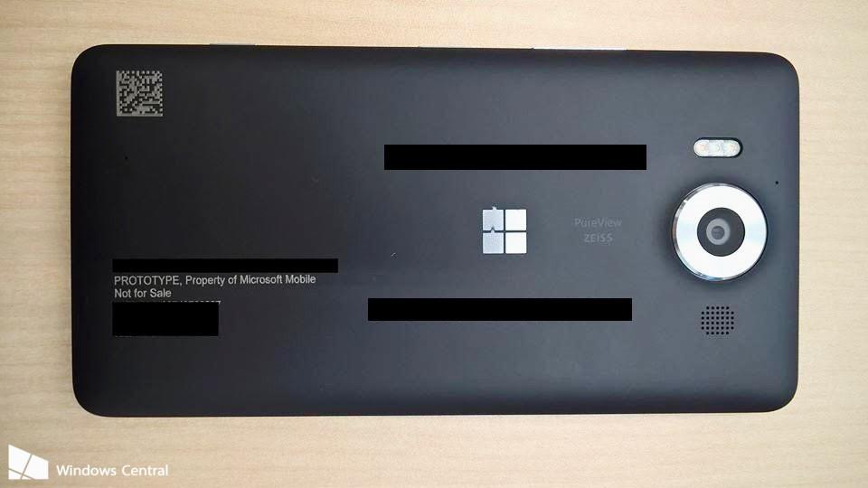 Lumia 950 tył