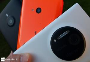 Aparaty w telefonach Lumia 640, 1020 oraz 1520