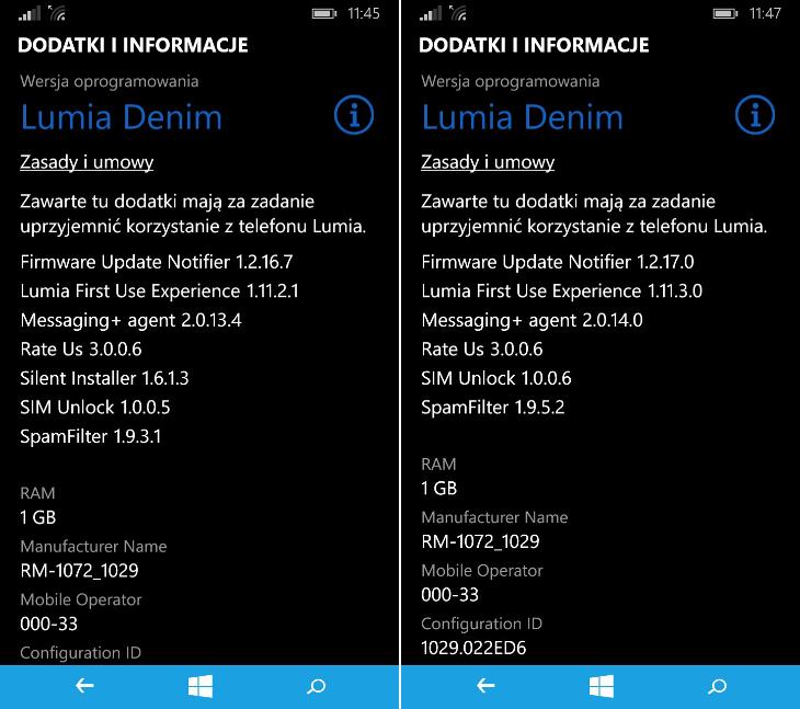Dodatki i informacje - Lumia Denim