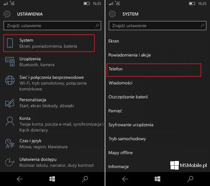 Nagrywanie rozmów - Lumia 950 i Lumia 950 XL