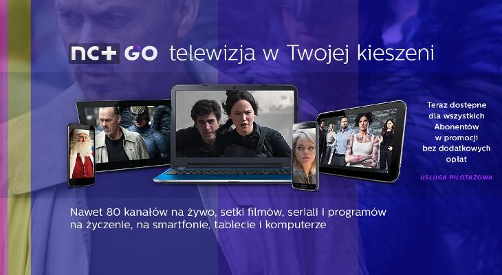 nc+ GO pilotażowy program