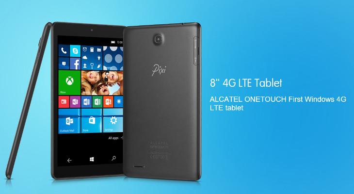Alcatel OneTouch Pixi 3 Windows 10 Mobile