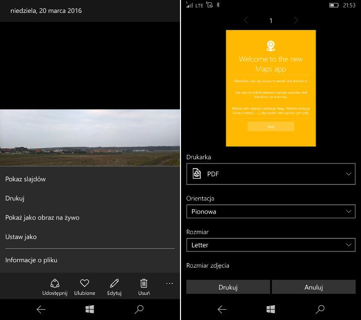 Zdjęcia Microsoft - nowe opcje