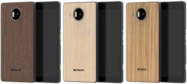 Drewniane etui Lumia 950 XL