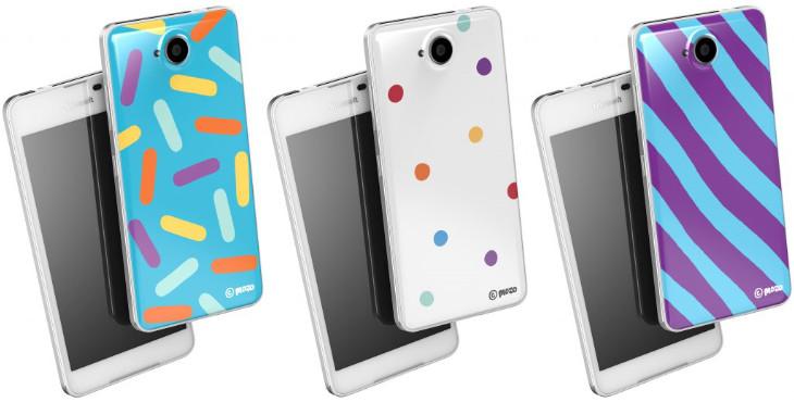 Kolorowe etui Mozo dla Lumia 650