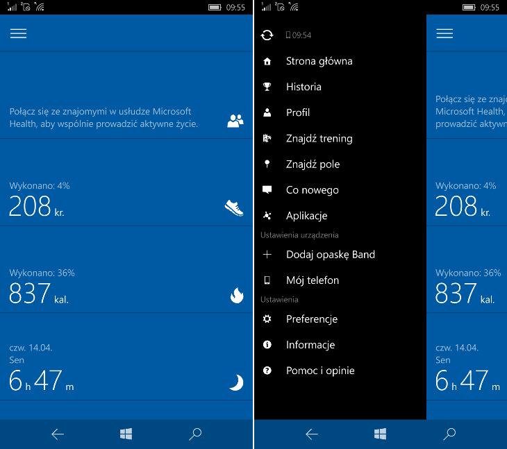 Microsoft Health UWP