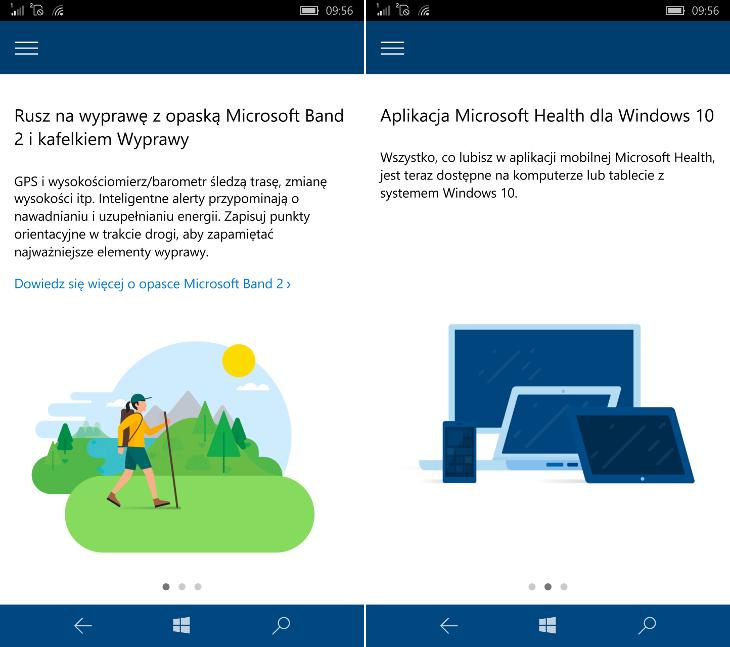 Microsoft Health - nowości