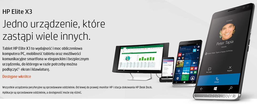 HP Elite x3 w Polsce