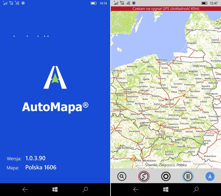 Mapy 1606 dla AutoMapa