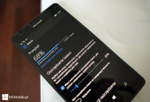 Bateria w Lumia 950 XL DS - Windows 10 Mobile Build 14393.5