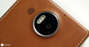 Skórzane etui Mozo dla Lumia 950 XL