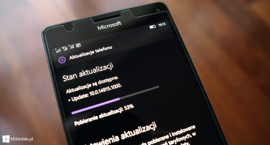 Windows 10 Mobile Build 14915