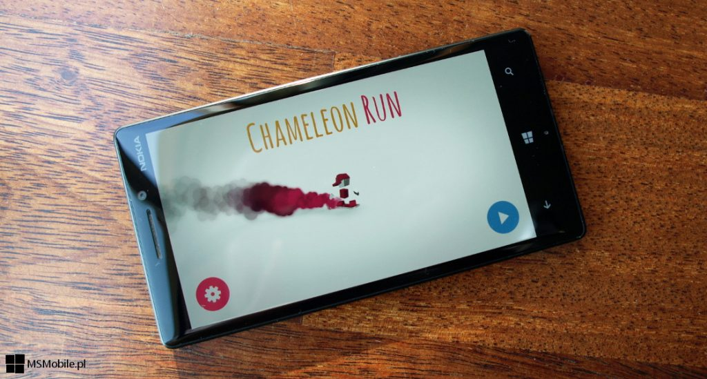 Chameleon Run na Windows 10 Mobile