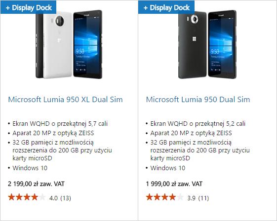 Lumia 950 XL Display Dock