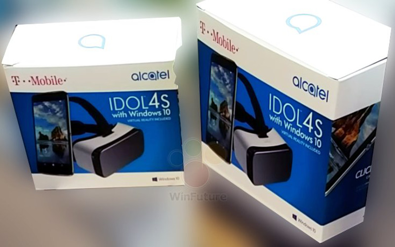 Alcatel Idol 4S z Windows 10
