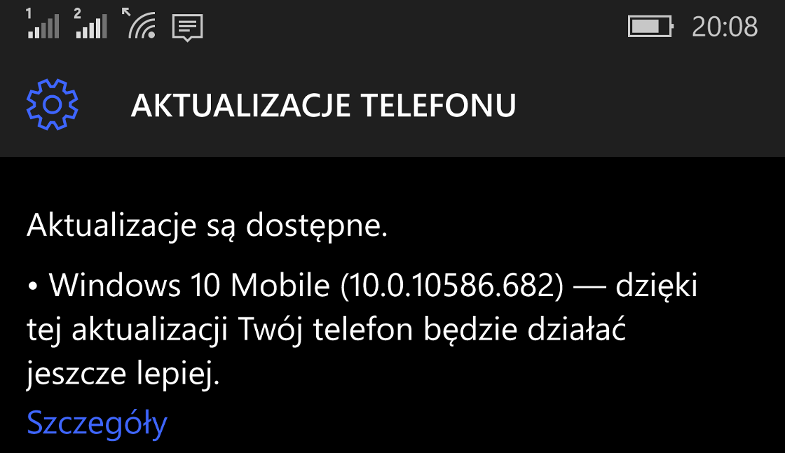 Windows 10 Mobile Build 10586.682