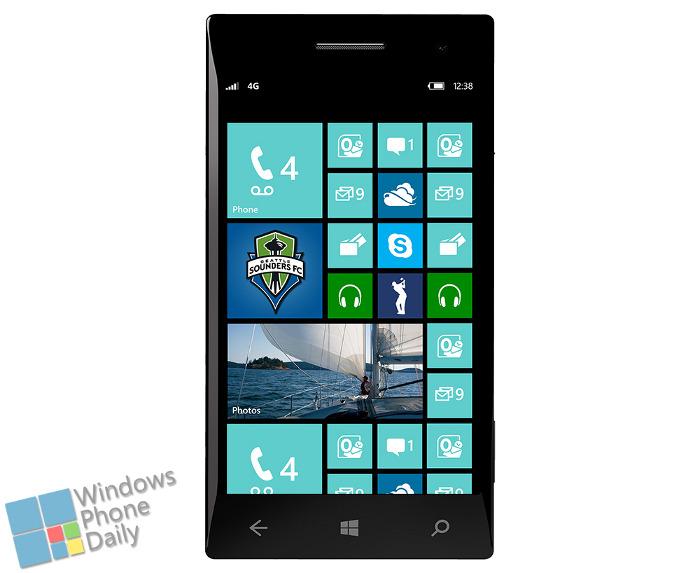 Oprogramowanie GDR3 Windows Phone 8 - nowy ekran startowy