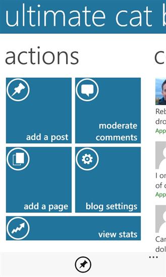 WordPress - Windows Phone