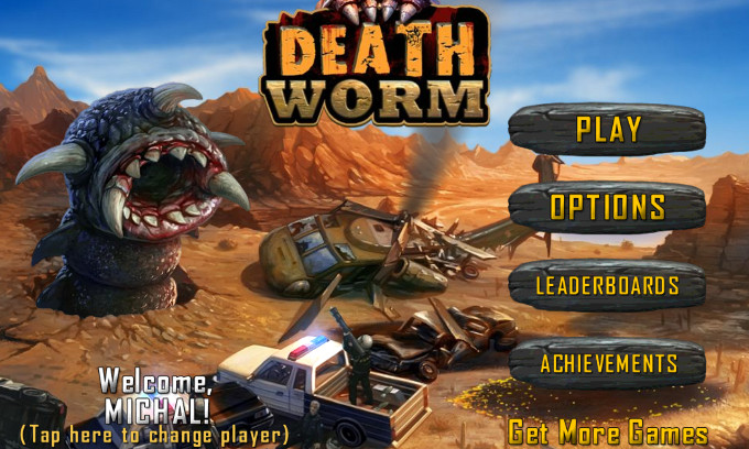 Death Worm Windows Phone