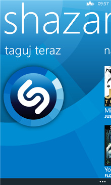 Shazam Windows Phone