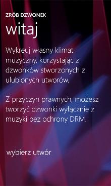 Zrób dzwonek beta - Nokia Lumia Windows Phone 8