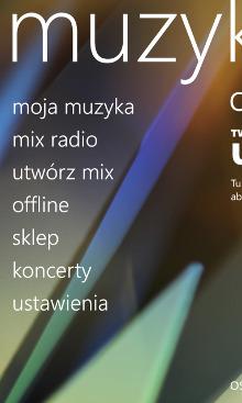Nokia Muzyka - Nokia Lumia Windows Phone