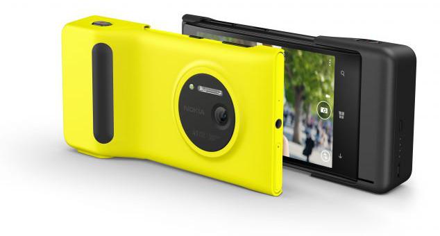 Nokia Lumia 1020 z obudową fotograficzną Nokia PD-95G