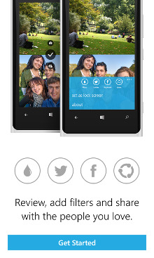 DualShot - Windows Phone