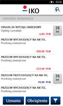 IKO PKO Bank Polski - Windows Phone