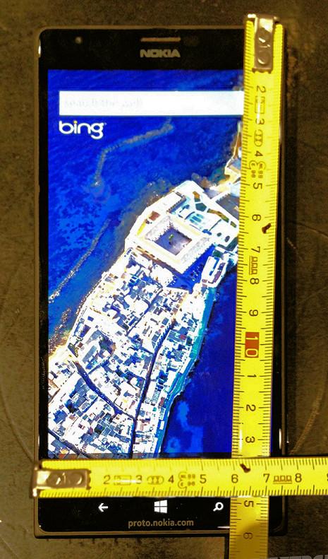 Nokia Lumia 1520 - wymiary urządzenia