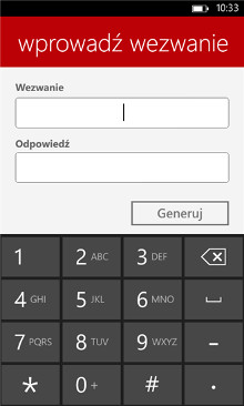PekaoToken - Windows Phone