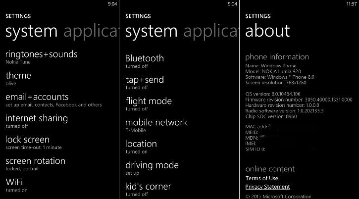 Oprogramowanie GDR3 Windows Phone 8