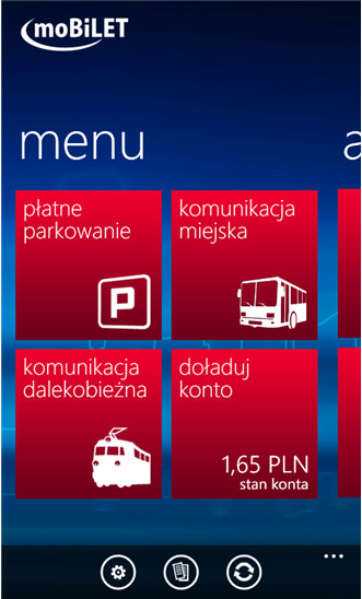 moBILET - Windows Phone