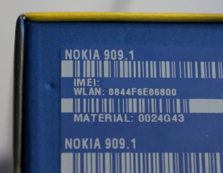 Pudełko Nokia 909