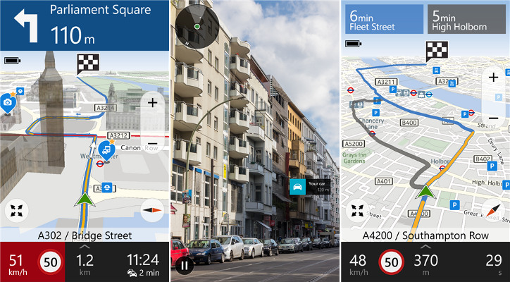 HERE Drive - Nokia Lumia