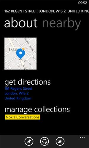 HERE Maps - zarządzanie kolekcjami
