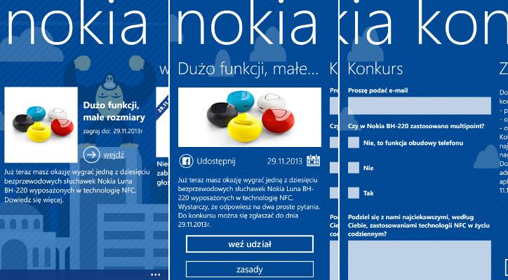 Nokia Konkursy - Nokia BH-220