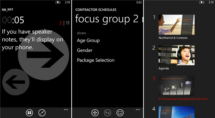 Office Remote - Windows Phone 8