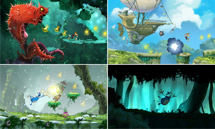 Rayman Jungle Run Windows Phone