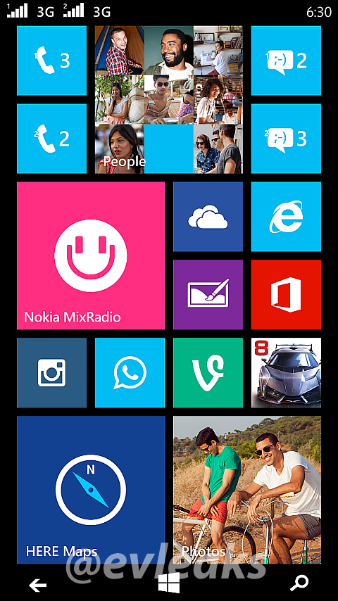 Nokia Lumia Dual SIM